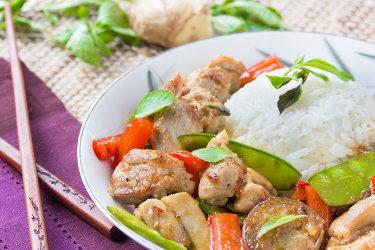 Thai Basil-Ginger Chicken