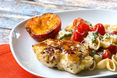 Jalapeño Peach Glazed Chicken
