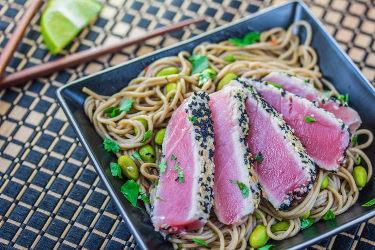 Seared Sesame Crusted Tuna