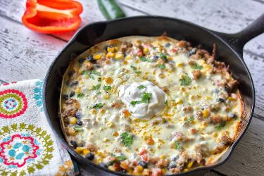 Tex-Mex Skillet Lasagna