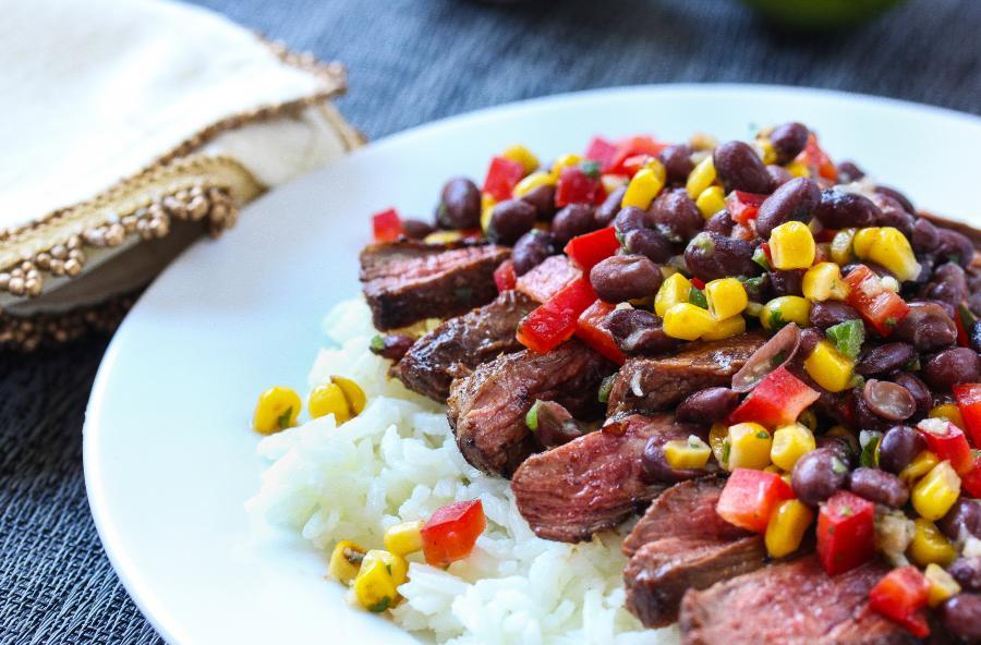 Four-Spice Sirloin Steak