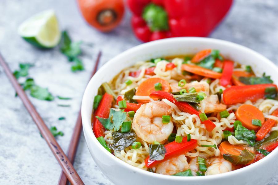 Shrimp & Baby Bok Choy